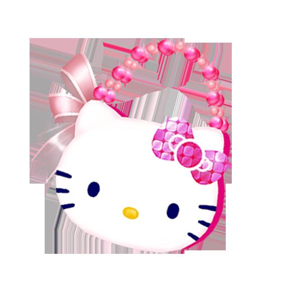 粉色凯蒂拎包